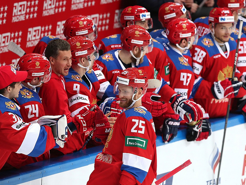 Russian National Team Roster For The Swedish Hockey Games